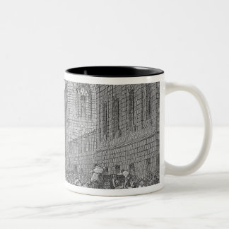 Preparing for an Execution Two-Tone Coffee Mug