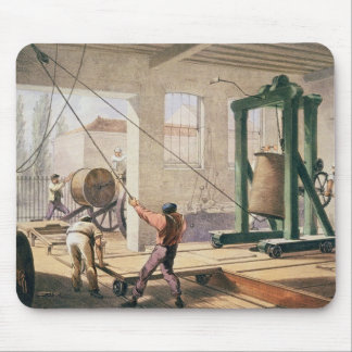 Preparing the Cable, from 'The Atlantic Telegraph' Mouse Mat