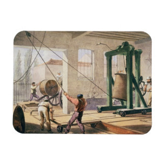 Preparing the Cable, from 'The Atlantic Telegraph' Rectangular Magnet