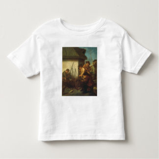 Preparing the Guns (oil on canvas) Toddler T-Shirt