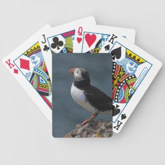 Preparing to Fly Puffin Card Decks