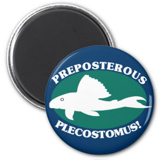 Preposterous Plecostomus Magnets