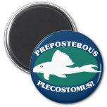 Preposterous Plecostomus Magnets