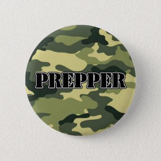 Prepper Camo 6 Cm Round Badge