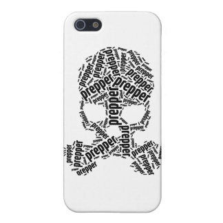 Prepper Skull Gas Mask Phone case iPhone 5 Covers