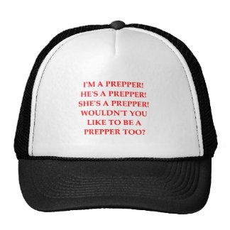 preppie mesh hat