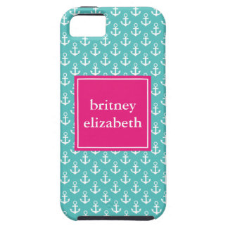 Preppy Anchors iPhone 5 Cover