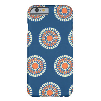 Preppy arabesque polka dot dots tribal pattern barely there iPhone 6 case