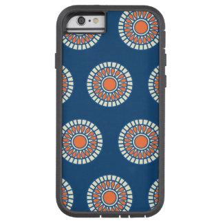 Preppy arabesque polka dot dots tribal pattern tough xtreme iPhone 6 case