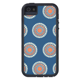 Preppy arabesque polka dot dots tribal pattern iPhone 5 cases
