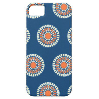 Preppy arabesque polka dot dots tribal pattern iPhone 5 cover