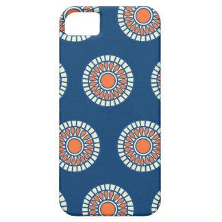 Preppy arabesque polka dot dots tribal pattern iPhone 5 cover