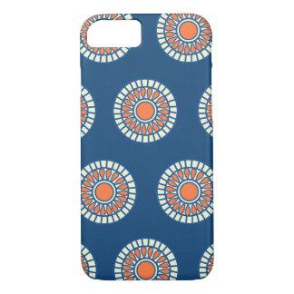 Preppy arabesque polka dot dots tribal pattern iPhone 7 case