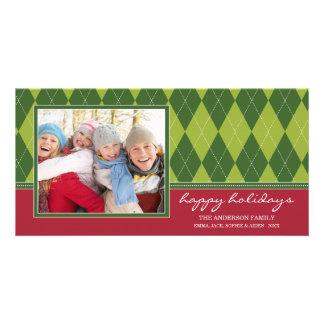 PREPPY ARGYLE HOLIDAY | HOLIDAY PHOTO CARD