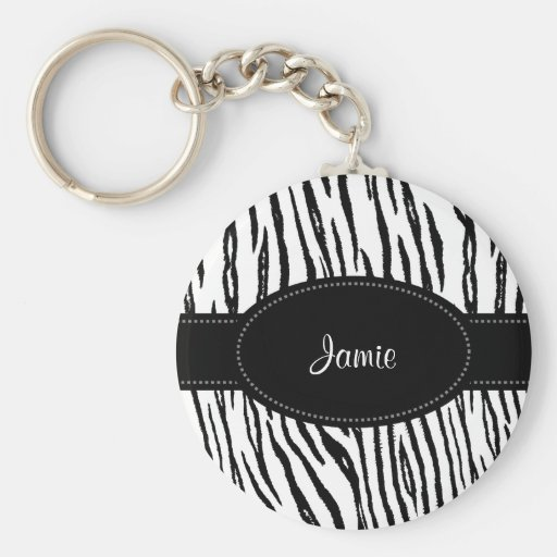 Preppy black and white tiger stripes with name zazzle - Tiger stripes black and white ...