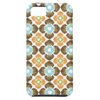 Preppy flower arabesque damask girly print pattern iPhone 5 cover