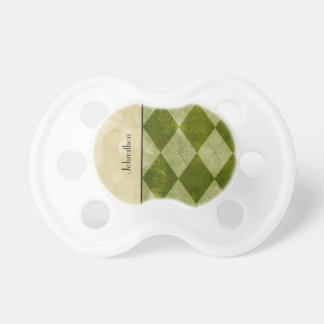 Preppy Green Argyle Classic Masculine Geometric Dummy