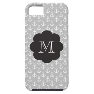 Preppy Monogram Anchors Tough iPhone 5 Case