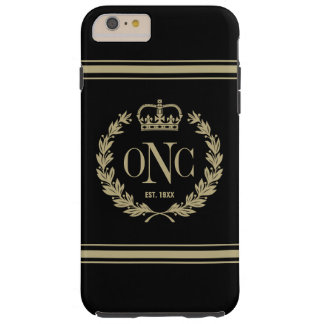 Preppy Monogrammed Logo Tough iPhone 6 Plus Case
