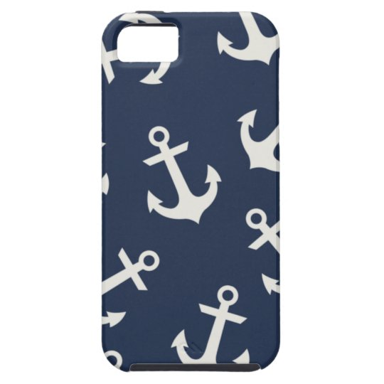 Preppy Nautical Anchor  IPHONE 5  Case Cover