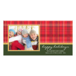 PREPPY PLAID HOLIDAY | HOLIDAY PHOTO CARD