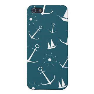 Preppy retro vintage anchors nautical anchor case iPhone 5/5S case