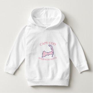 Preppy Vineyard Pink Cape Cod Massachusetts Hoodie
