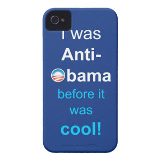 PRES44 ANTI-OBAMA iPhone 4 Case-Mate CASE