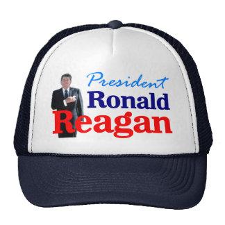 Pres Ronald Reagan Mesh Hat