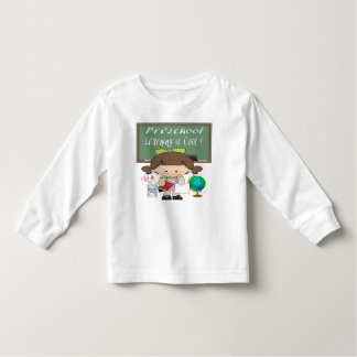 Preschool Girl Learning is Cool Toddler T-Shirt