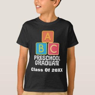 Preschool Graduate Class of 2015 Graduation T-Shirt