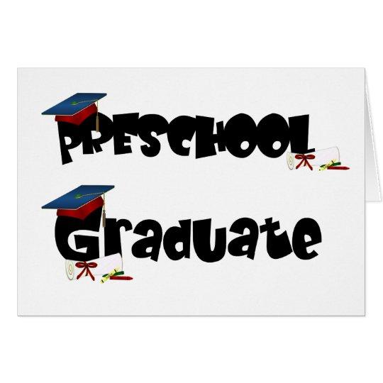 Preschool Graduate Tshirts and Gifts Card