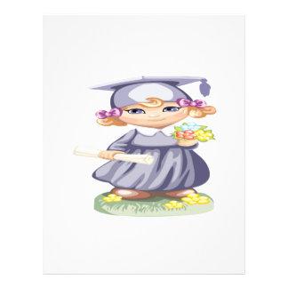 Preschool Graduation 21.5 Cm X 28 Cm Flyer