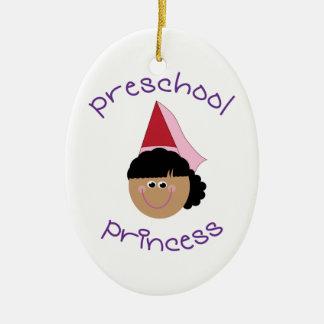 Preschool Princess Christmas Ornament