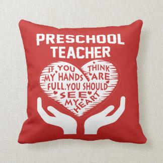 Preschool Teacher Cushion