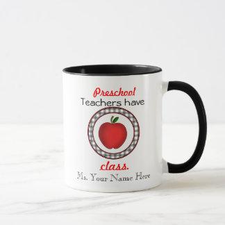 Preschool Teacher Mug - Teachers Have Class