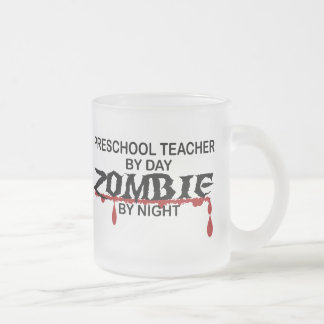 Preschool Teacher Zombie Mug