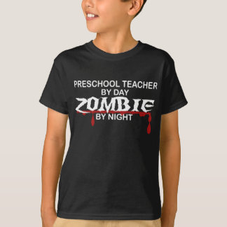 Preschool Teacher Zombie T-Shirt