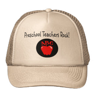 Preschool Teachers Rock Cap