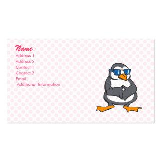 Prescott Penguin Business Card Templates