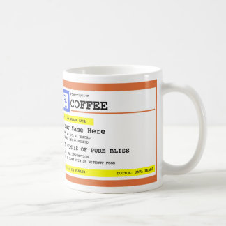 Prescription Coffee Personalized Coffee Mug