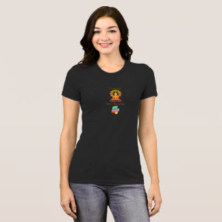 """""""Presence over Presents"""" women's holiday tee"""