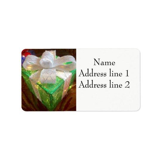 Present address labels
