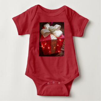Present bodysuit for baby