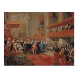 Presentation of Order of Holy Spirit to Prince Postcard