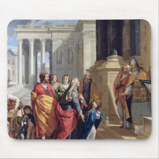 Presentation of the Virgin in the Temple Mouse Mat