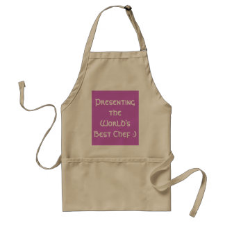 Presenting the World's Best Chef :) Adult Apron