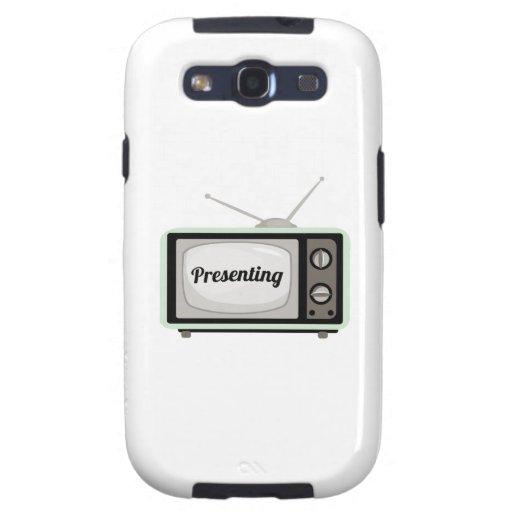 Presenting TV Samsung Galaxy SIII Case