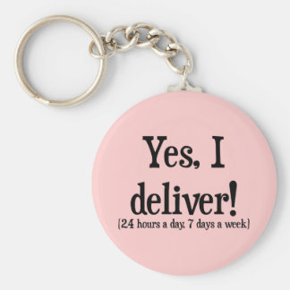Presents for Midwives & OBs Key Ring