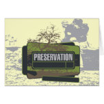 Preservation Tshirts and Gifts Greeting Card